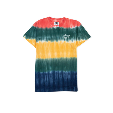 BILLIONAIRE BOYS CLUB Scripted Tie Dye Knit Tee (Multi)