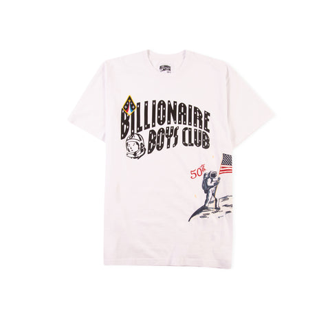 BILLIONAIRE BOYS CLUB Moonwalk Knit Tee (White)