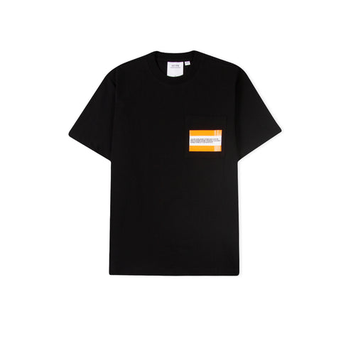 CALVIN KLEIN EST. 1978 Flag Logo Pocket Tee (Black Beauty)