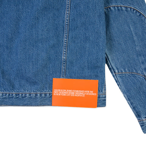 CALVIN KLEIN EST. 1978 Trucker Jacket (Tough Blue)