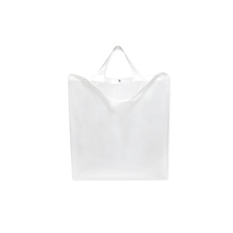 CALVIN KLEIN EST. 1978 Flag Logo Big Tote (Transparent)