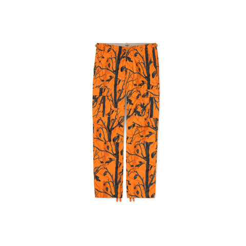 CARHARTT WIP Aviation Pant (Camo Tree Orange Rinsed)