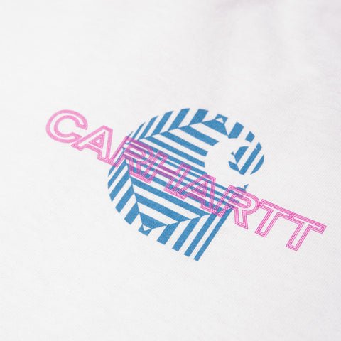 CARHARTT WIP Long-Sleeve Mind Tee (White)