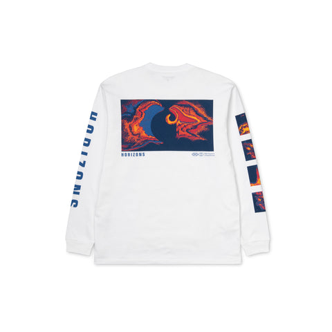 CARHARTT WIP Long-Sleeve Horizon Tee (White)