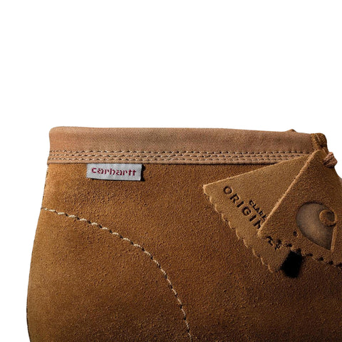 CARHARTT WIP x CLARKS Wallabee (Hamilton Brown)