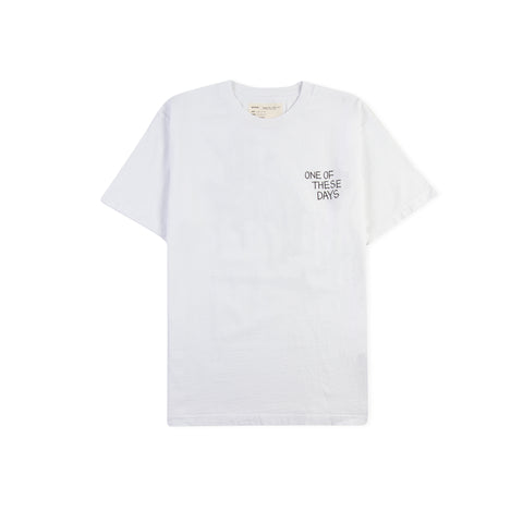 ONE OF THESE DAYS BY MATT MCCORMICK Loosing End Tee (White)