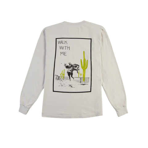ONE OF THESE DAYS BY MATT MCCORMICK Walk with Me Long-Sleeve Tee (Natural)