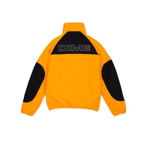 DIME Polar Fleece Track Jacket (Gold/Black)