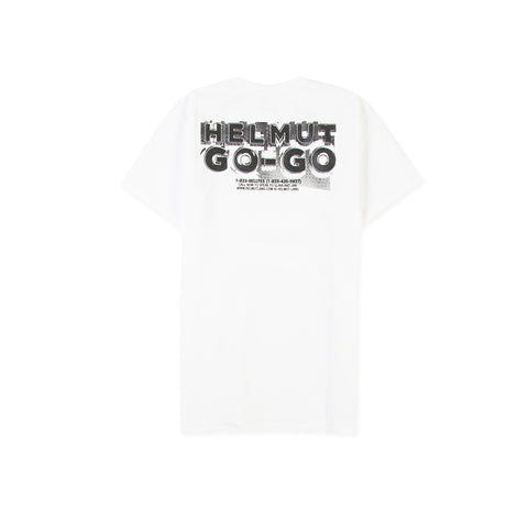 HELMUT LANG Go Go Little Tee (Chalk White)