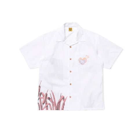 HUMAN MADE Duck Aloha Shirt (White)