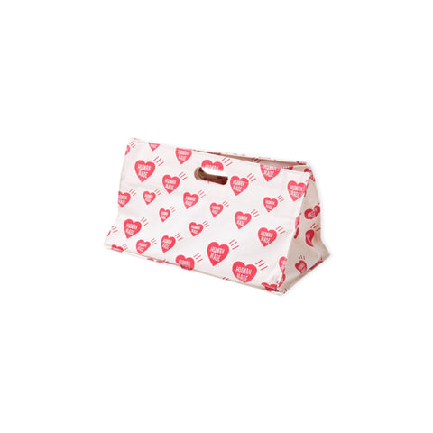HUMAN MADE Heart Box Tote Bag (White)