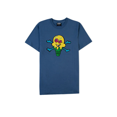 ICECREAM Bud Tee (Federal Blue)