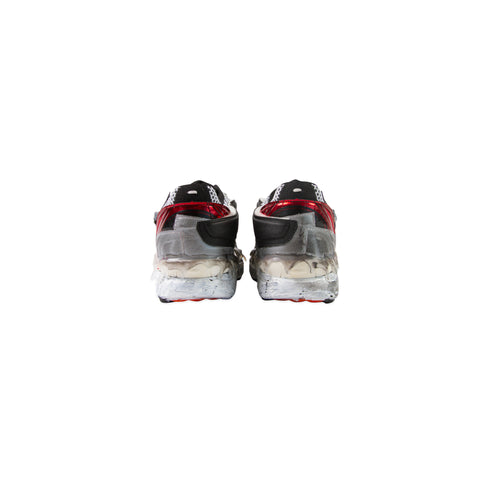 MAISON MARGIELA Fusion Low Top Sneaker (Red/Black/White)