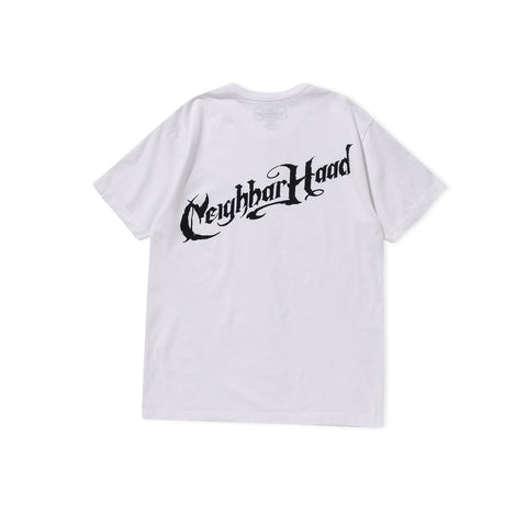 NEIGHBORHOOD Script Tee (White)