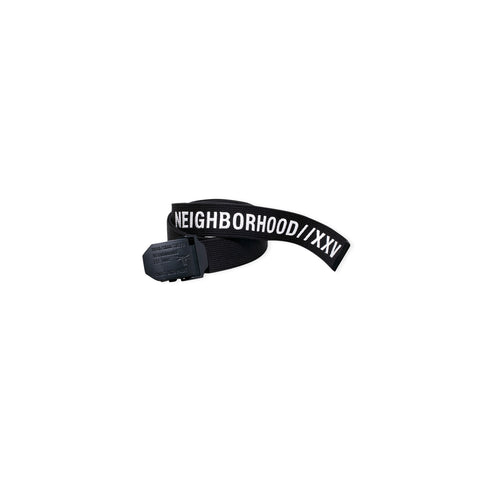 NEIGHBORHOOD Woven Acrylic Belt (Black)