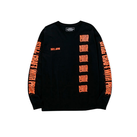 NEIGHBORHOOD Crue Long-Sleeve Tee (Black)