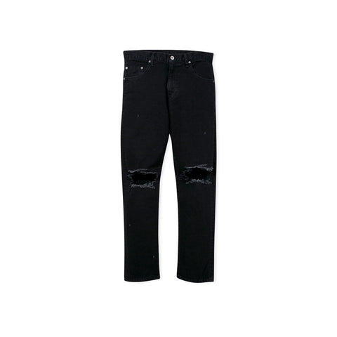 NEIGHBORHOOD Washed Skinny Jean (Black)