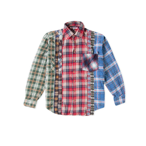 NEEDLES 7 Cuts Flannel Shirt (Assorted) - Size Small