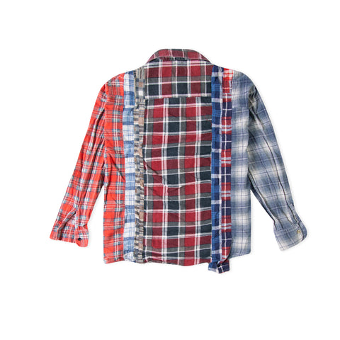 NEEDLES 7 Cuts Flannel Shirt (Assorted) - Size Medium