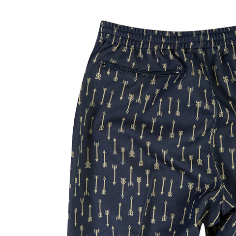 NEEDLES Poly Jacquard Track Pant (Arrow/Navy)