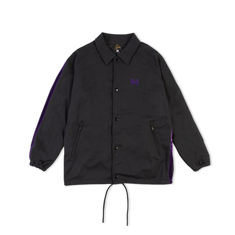 NEEDLES Side Line Polyester Coach Jacket (Black)
