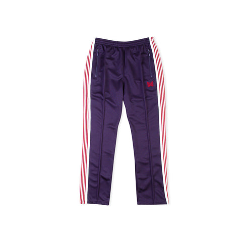 NEEDLES Narrow Polyester Track Pant (Eggplant)
