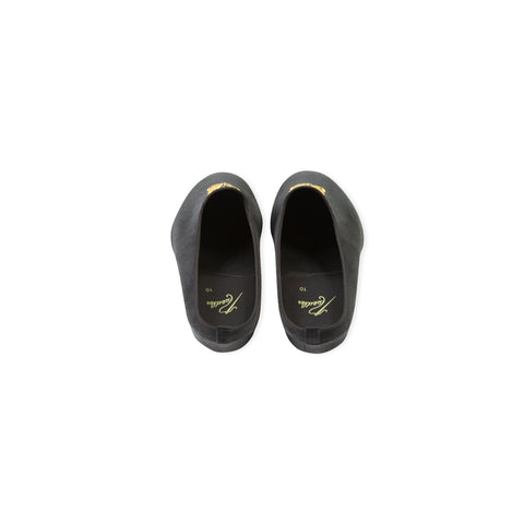 NEEDLES Papillon Embroidered Mule Slipper (Black)