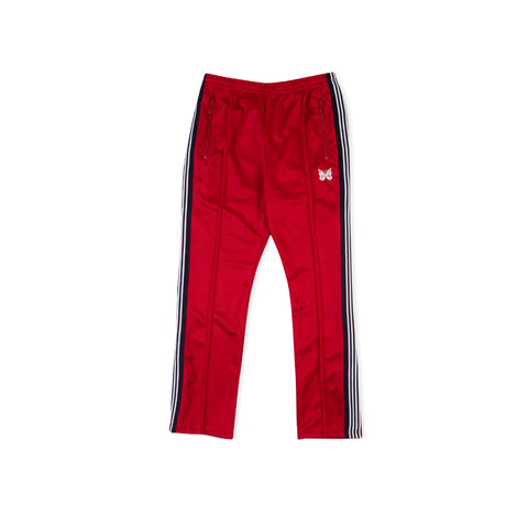 NEEDLES Narrow Polyester Track Pant (Red)