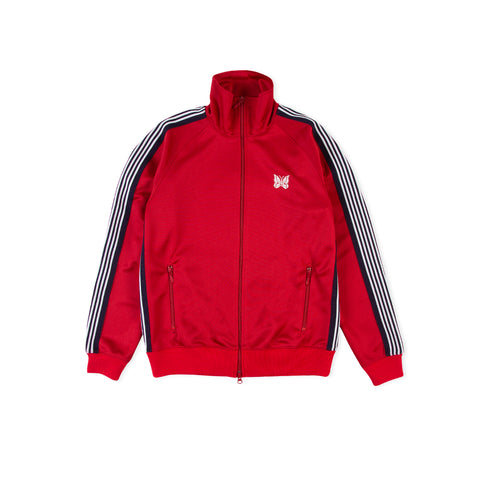 NEEDLES Smooth Polyester Track Jacket (Red)