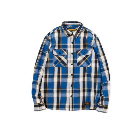 NEIGHBORHOOD Cabella Flannel Shirt (Blue)