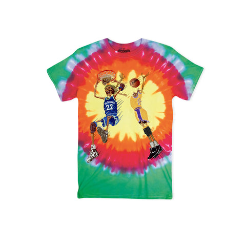 NO JUMPER X BLACK MARKET Death Slam Tee (Tie Dye)