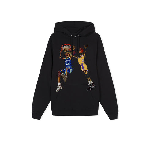 NO JUMPER X BLACK MARKET Death Slam Hoodie (Black)
