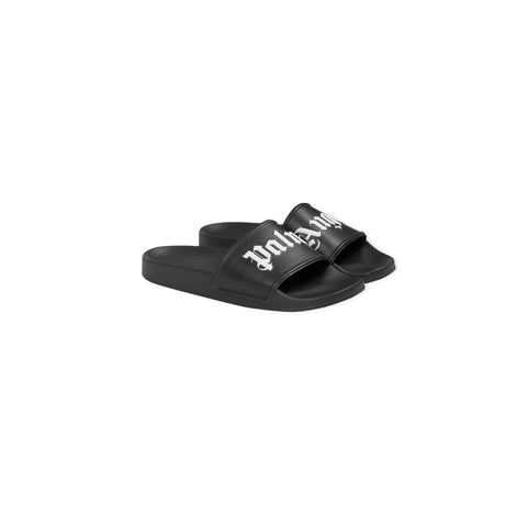 PALM ANGELS Pool Slides (Black)