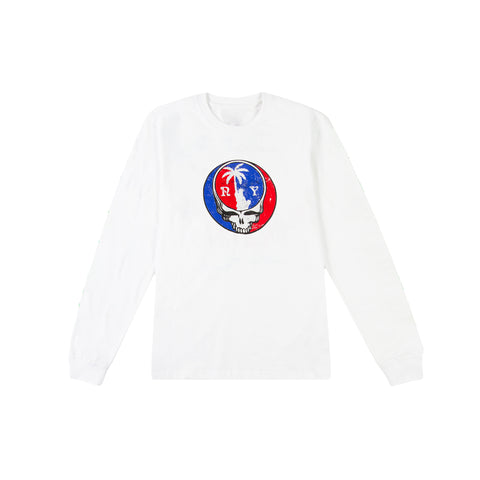 PARADISE NYC Summer Tour Long-Sleeve Tee (White)