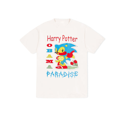 PARADISE NYC Harry Potter Obama Tee (White)
