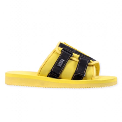 PALM ANGELS x SUICOKE Patch Slider (Yellow/Black)