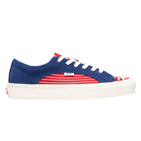 VANS VAULT OG Lampin LX Suede/Canvas (True Blue/Racing Red)