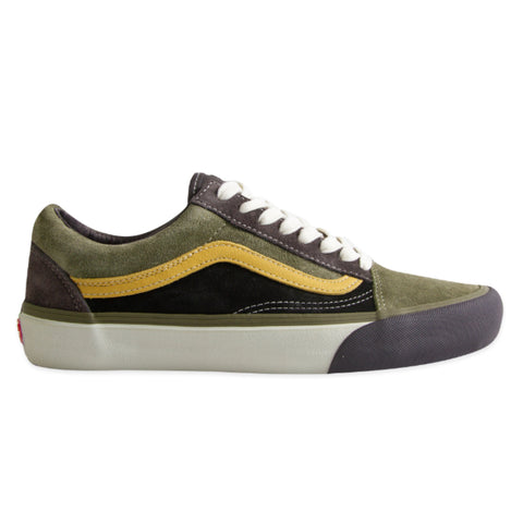 VANS VAULT Old Skool VLT LX Suede/Leather (Shale/Stone Grey)