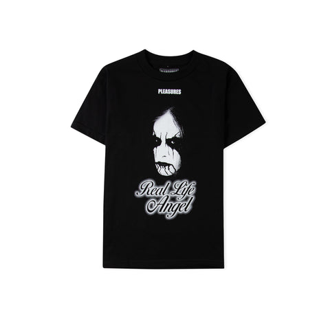 PLEASURES Angel Tee (Black)