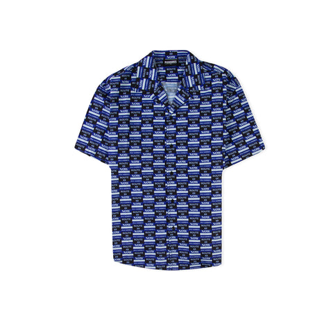 PLEASURES Gangster Woven Shirt (Black)