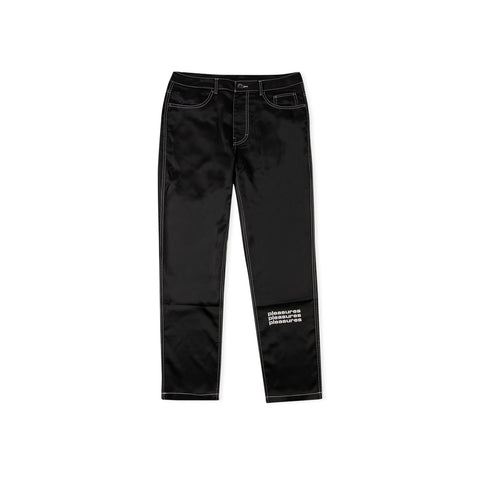 PLEASURES Blaze Nylon Chino Pant (Black)