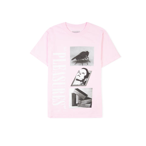 PLEASURES Life or Death Tee (Pink)