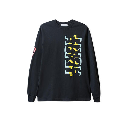 ROKIT Outtasight Long-Sleeve Tee (Black)