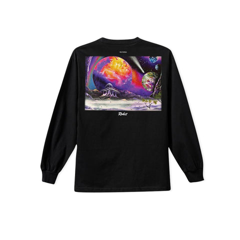 ROKIT Orbit Long-Sleeve Tee (Black)