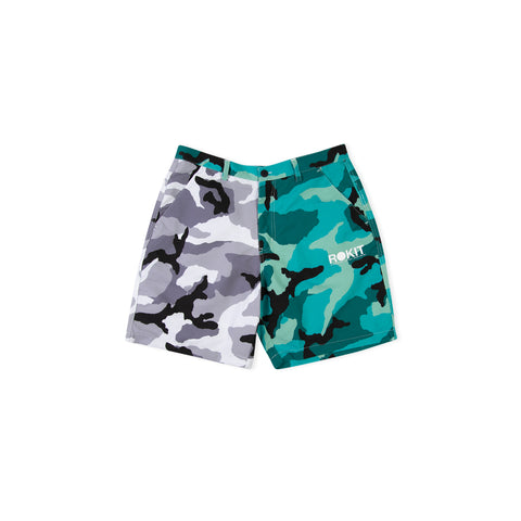 ROKIT League Short (Grey/Teal)