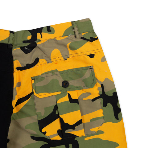 ROKIT Playoff Short (Yellow/Black)