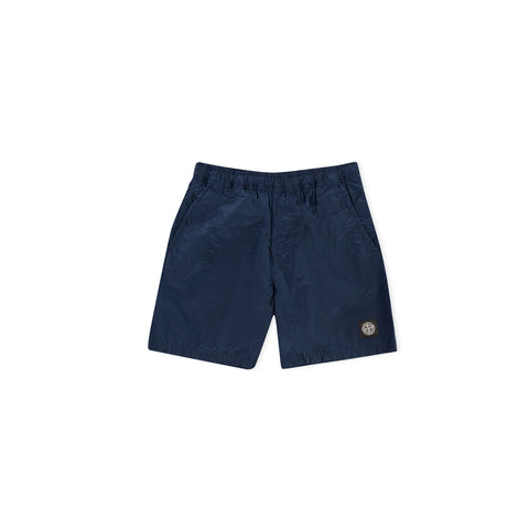 STONE ISLAND B0943 Nylon Metal Swimming Trunks (Marine Blue)