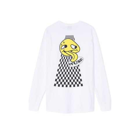 STUSSY Dose Long-Sleeve Tee (White)