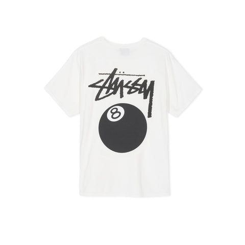 STUSSY 8 Ball Pigment Dyed Tee (Natural)