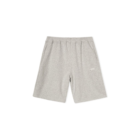 STUSSY Stock Fleece Short (Heather Grey)